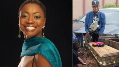 Singer Yinka Davies loses only child to the cold hands of death