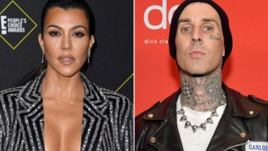 Kourtney Kardashian shows off 42nd birthday gift from Travis Barker