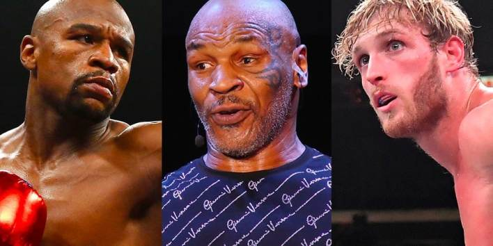 Mike Tyson Says Jake and Logan Paul Have No Chance Against Floyd Mayweather