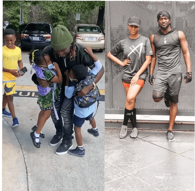 Opinion: Rudeboy, and his wife has shown other celebrities how to settle differences in marriage
