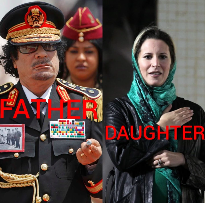 Meet Gaddafi's Only Daughter Who Went Into Exile After Her Father Was Assassinated By Rebel Forces