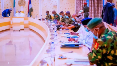 BREAKING: Buhari Meets With Security Chiefs, Others