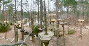 High Ropes at Camp Winnamocka
