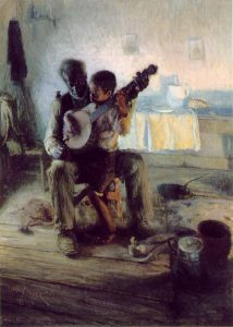 "Henry Oshawa Tanner's ""The Banjo Lesson"""