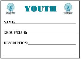 Image of Youth Barn Card