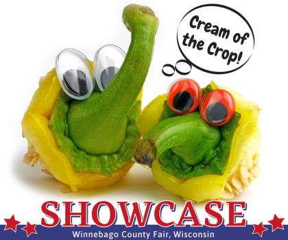 Cream of the Crop! SHOWCASE Winnebago County Fair, Wisconsin