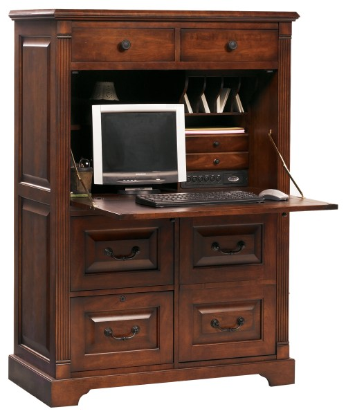 computer desk armoire  Guide to Winners Only Furniture
