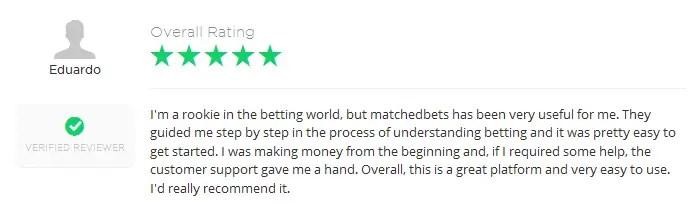 matchedbet reviews 2