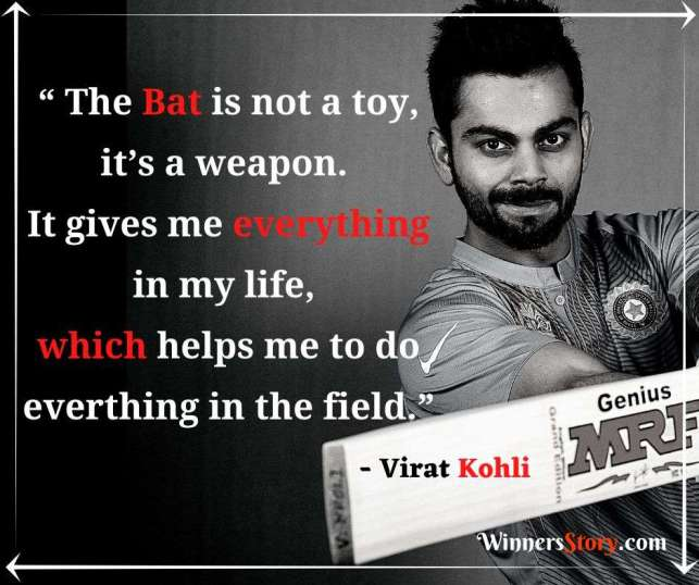 Virat Kohli Motivational Quotes