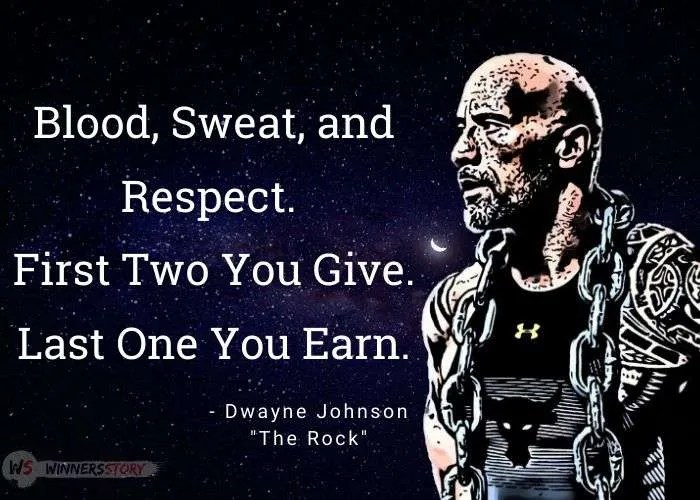15- the rock motivational quotes