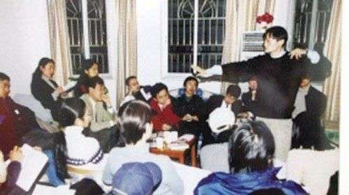 Jack Ma facts pitching the idea of Alibaba to his friends