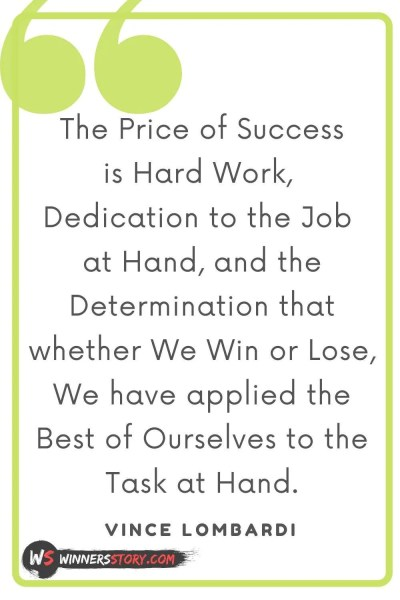 12-success quotes hard work