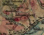 Winnice Schloss Johannisberg - oznaczone czerwonym kolorem