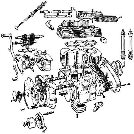 BSA-Métisse mit BSA A75 Rocket3-Motor ein Bericht von