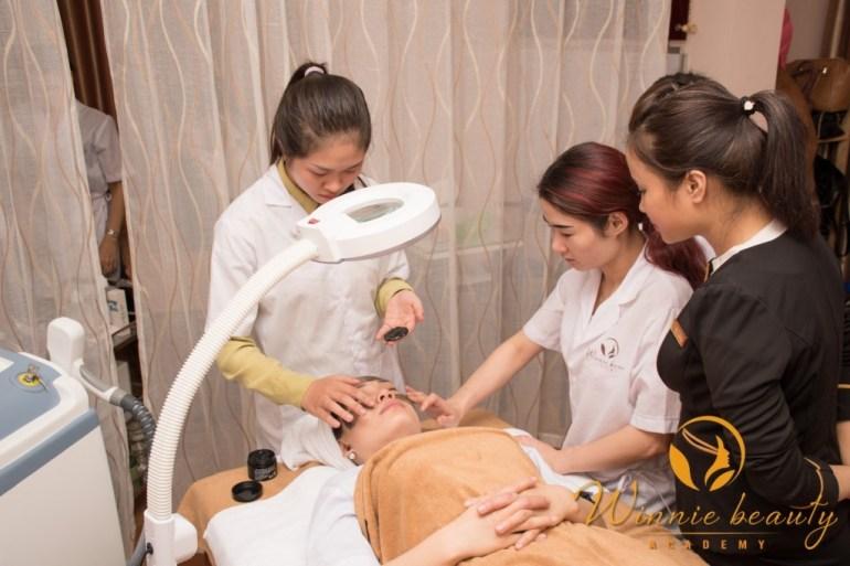 học chăm sóc da spa chuyên nghiệp ở hà nội, dạy chăm sóc da spa chuyên nghiệp tại hà nội