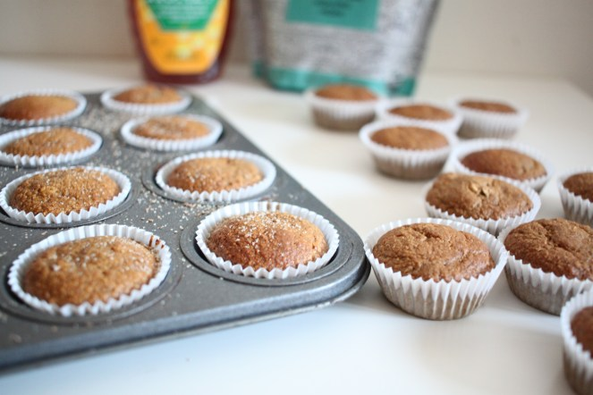 Easy blender banana bread muffins balanced eating real food do you like bananas do you like simple healthy recipes then this blender banana recipe is for you its made with only 7 common ingredients naturally forumfinder Image collections