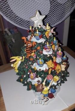 Winnie The Pooh Christmas Tree Light Up Ornamentcentre