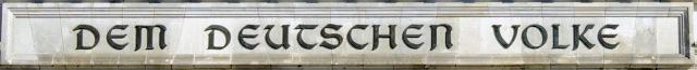 Inschrift Reichstag