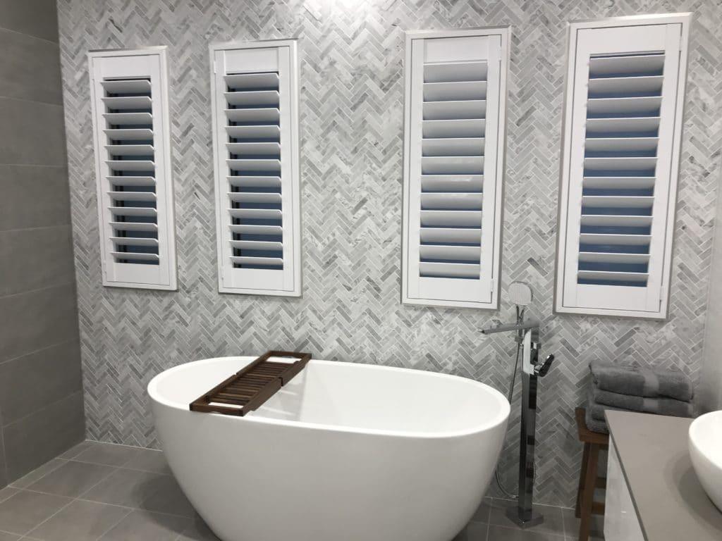 Bathroom Shutters Winning Blinds