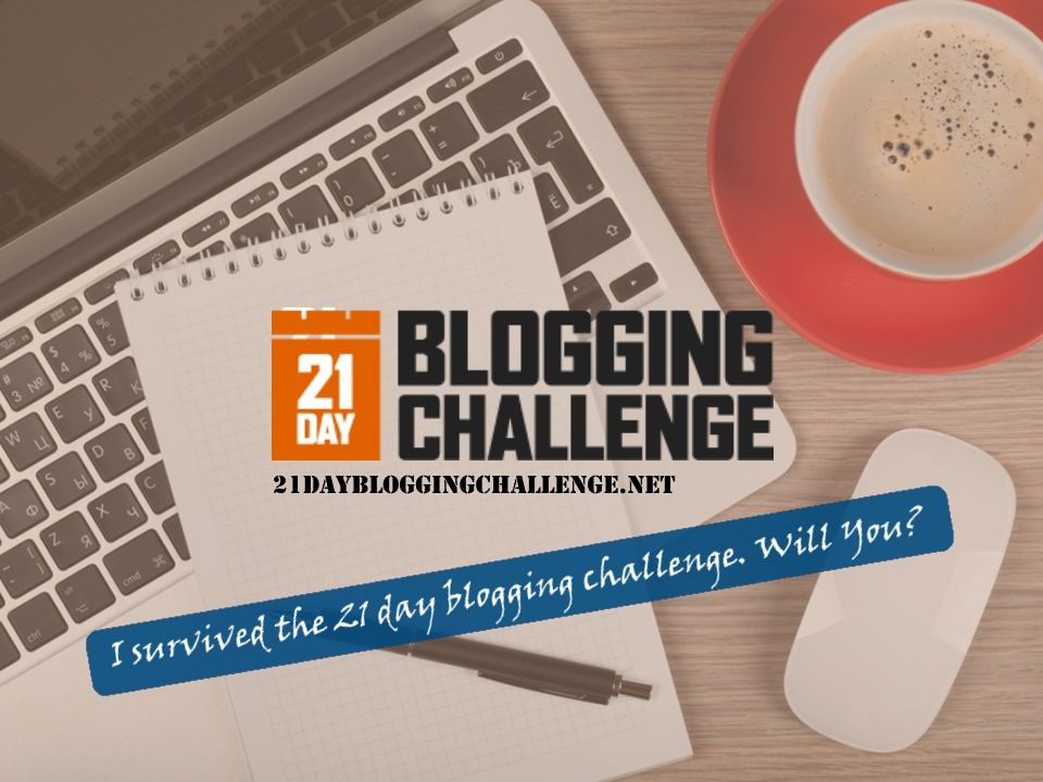 The 21 Day Blogging Challenge Share
