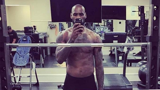 LeBron James: Bald