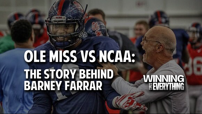 Ole Miss vs NCAA: The Story Behind Barney Farrar