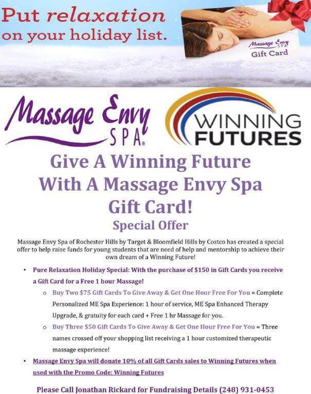 Massage Envy Gift Card Promotions | Diydrysite.co