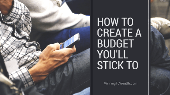 how to create a budget