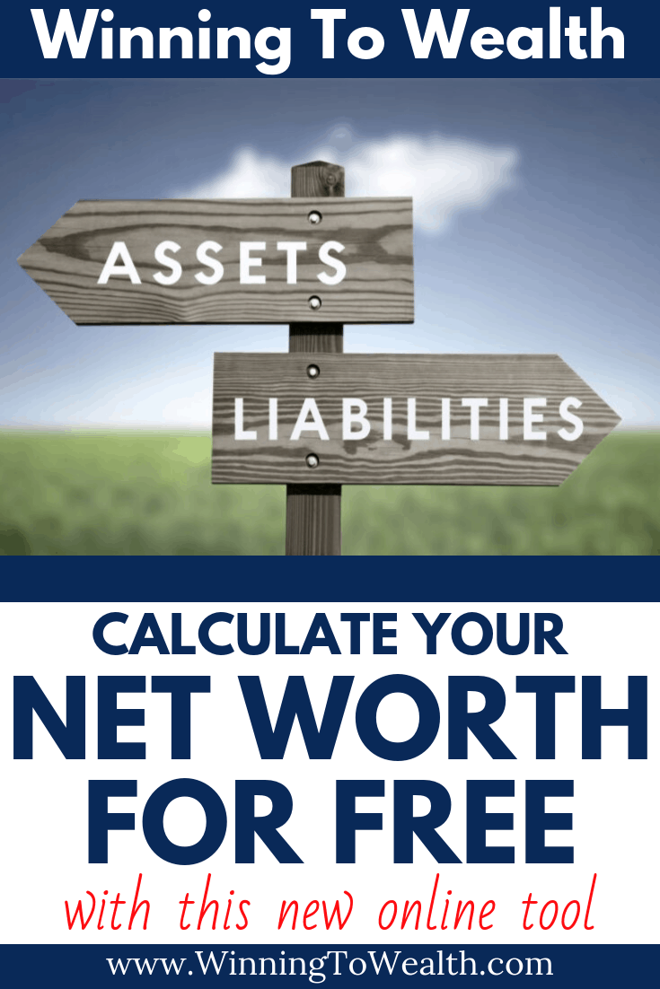 Calculate your net worth using this online calculator. No email address required!