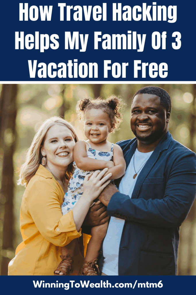 My family uses travel hacking to vacation for free. Here's our travel hacking strategy.