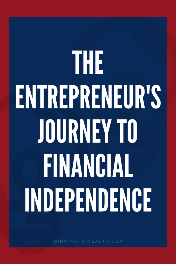 Joe went from deep in credit card debt to financial independence by age 45. He did it by starting his own business. Learn how entrepreneurship can help you reach financial independence in this episode of the winning to wealth podcast.