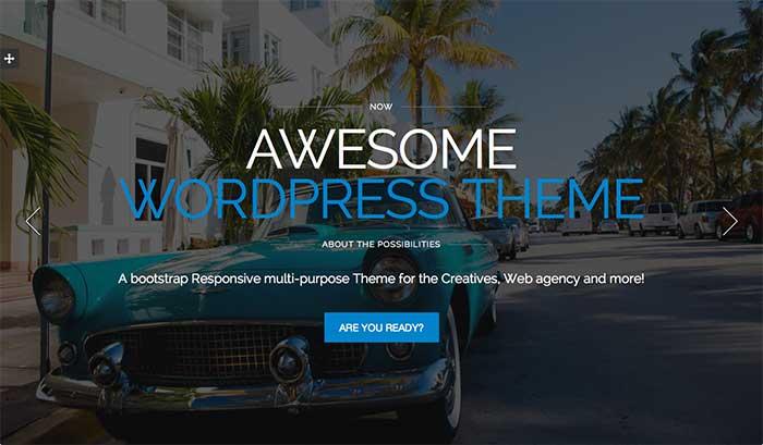 Alpine - One-Page WordPress Theme