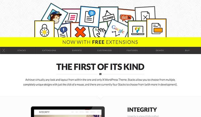 X-Theme - One-Page WordPress Theme