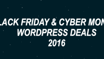Winning black friday cyber monday wordpress deals 2015 wordpress black friday cyber monday deals and discounts 2016 fandeluxe Image collections