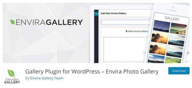 Envira Gallery Lite Plugin