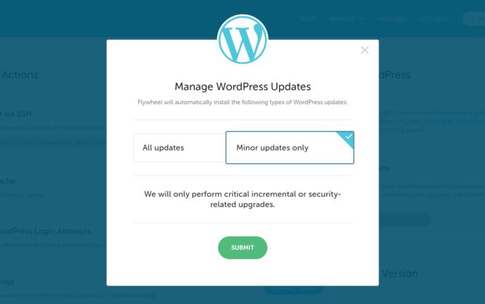 Flywheel Automatic WordPress Updates