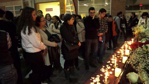 Tehran vigil Winnipeg