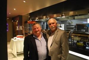 Host Grant Avery and Past President Ron Dobrinsky