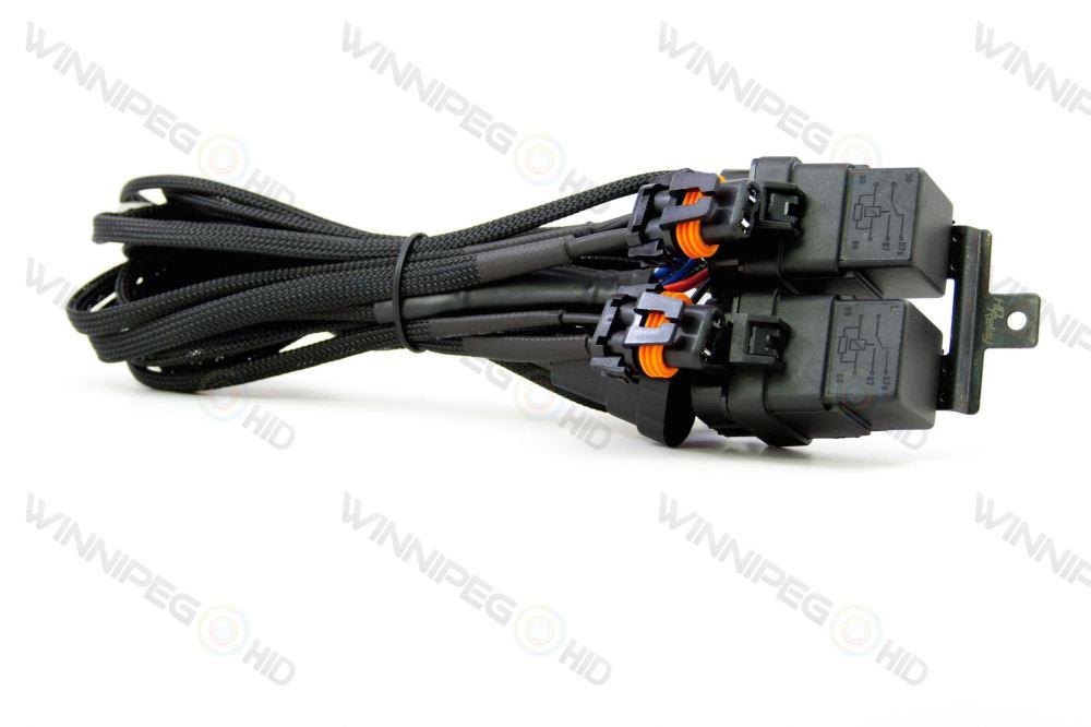 medium resolution of morimoto single beam hd harness