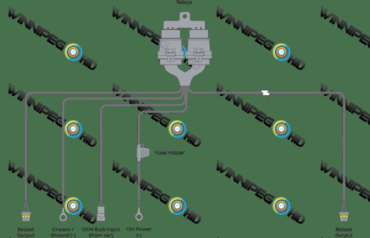400w hps wiring diagram trailer lights uk 9006 hid sony