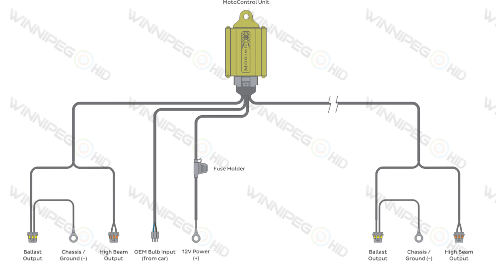 medium resolution of morimoto h4 bixenon headlight relay wire harness schematic