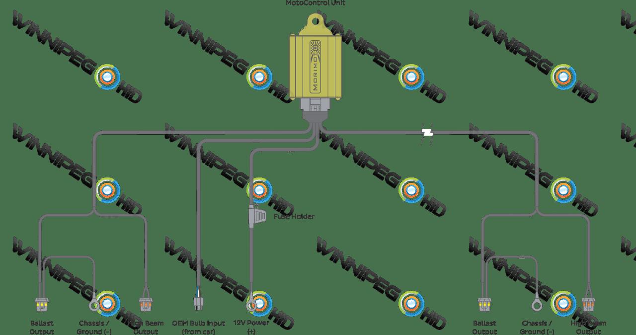 hight resolution of morimoto h4 bixenon headlight relay wire harness schematic