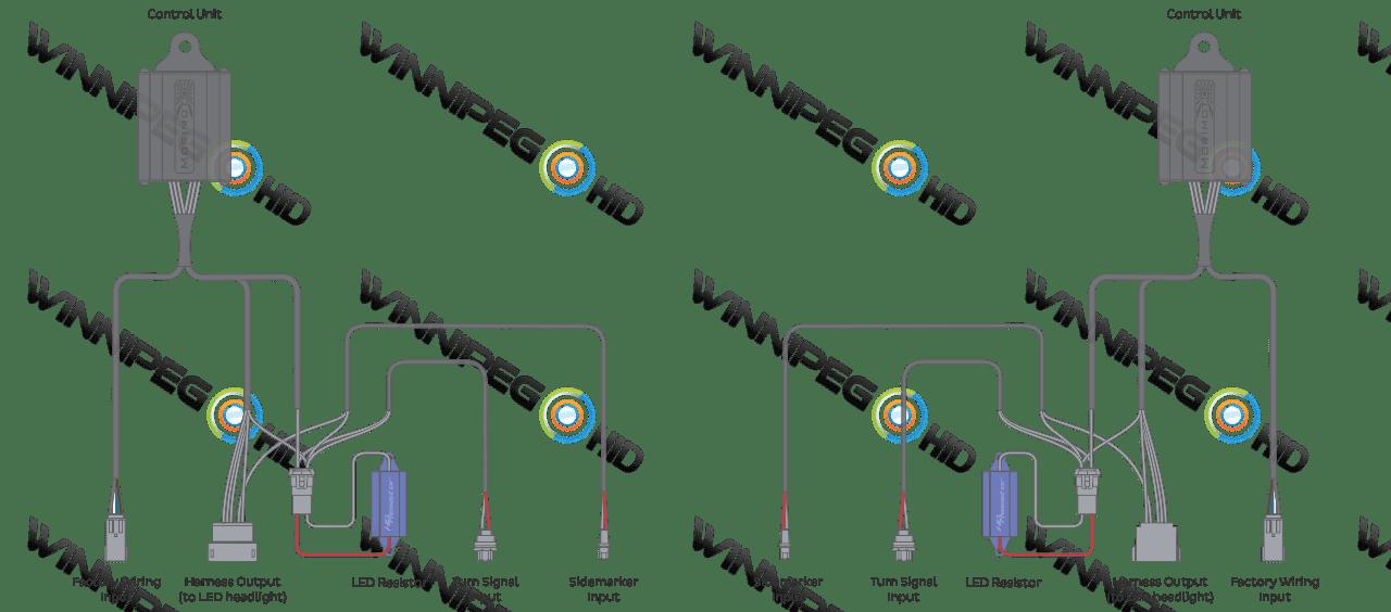 2015-17 F150: Morimoto OEM LED Conversion Harness