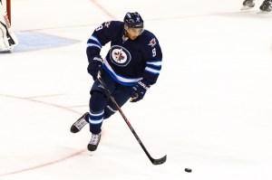 Winnipeg Jets forward Evander Kane (9). (Photo by Shawn Coates)