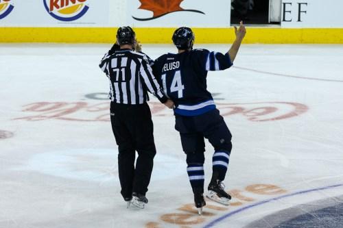 Winnipeg Jets Anthony Peluso
