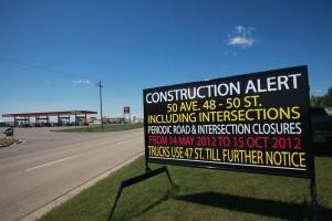 Winnipeg Road Side Signs