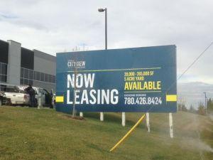 Winnipeg real estate sign