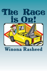 The Race is on Print cover for Amazon