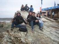 The gang in Pichilemu