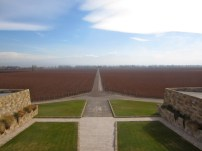 View from the top of the Catena Zapata Winery